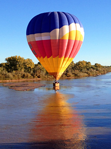 Balloon flights in Albuquerque