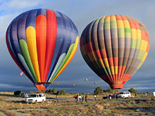 Balloon rides in Albuquerque New Mexico